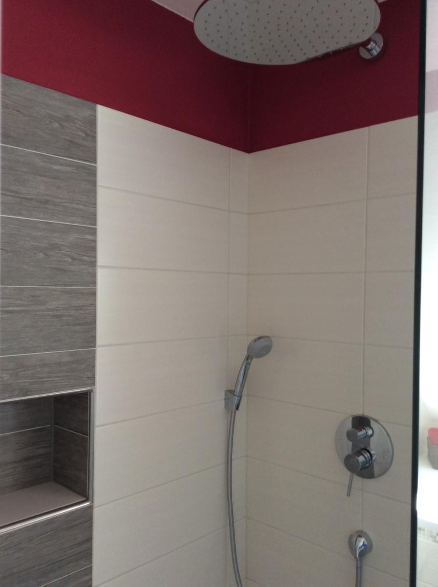Badezimmer / begehbare Dusche